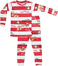 product image for Books to Bed Little Boys' Christmas Striped Pajamas