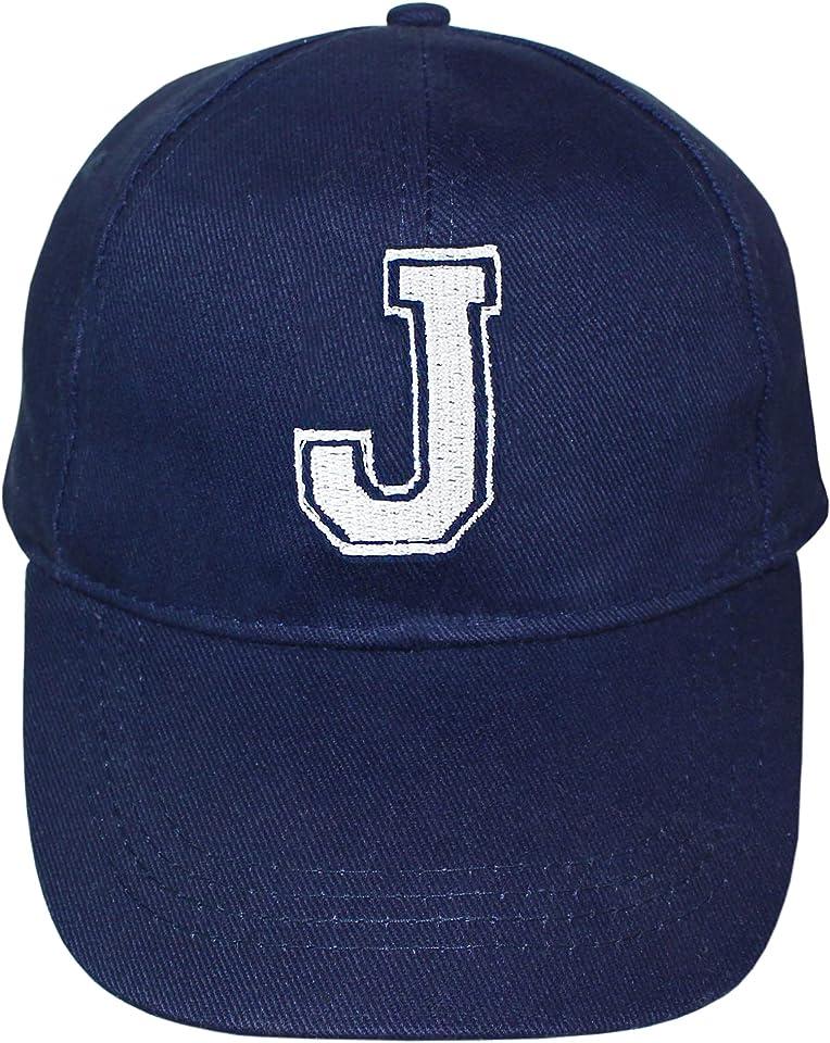 Personalised Children's Varsity Initial Design Baseball Cap