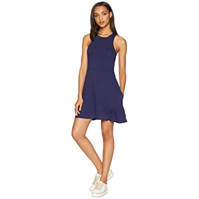RVCA Iris Dress (Shady Blue) Women
