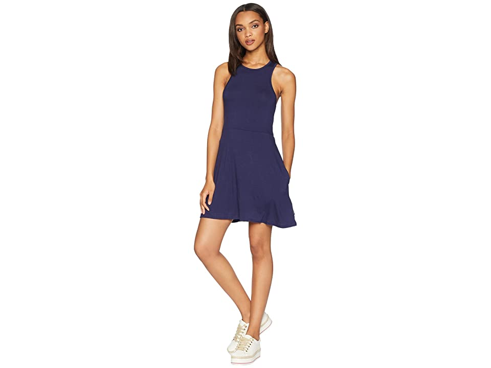 RVCA Iris Dress (Shady Blue) Women
