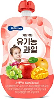 BeBecook Organic Mixed Fruit Juice, 100ml (packaging may vary)