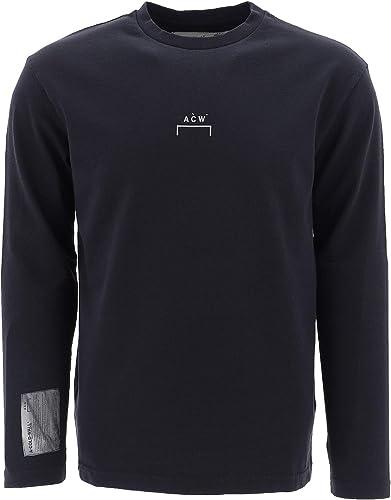 A-COLD-WALL Homme CW9SWH19BTCE187999 Noir Coton T-Shirt