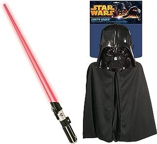 Rubie's Star Wars Darth Vader Cape, Mask, and Lightsaber Set