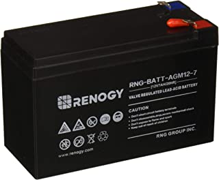 Renogy 12Volt 7Ah Rechargeable Sealed Lead Acid Battery
