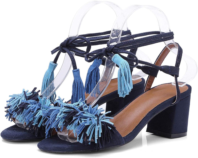 Go - Samsara talons talons talons talons talons talons de loisir velours cheville bracelet sandales d 'été  online till bästa pris