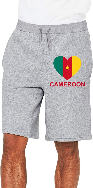 Love Selling rankings Cameroon Men's Casual Trouser Waist Ranking TOP1 Drawstri Elastic Shorts