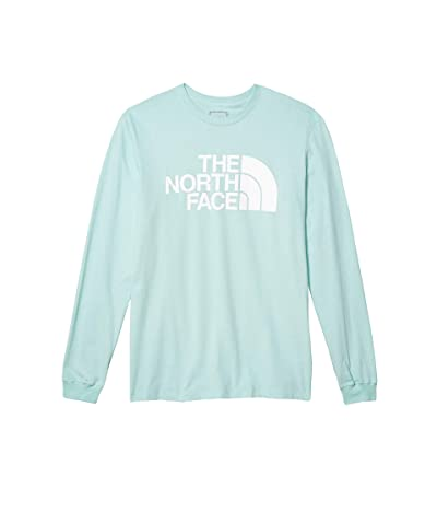 The North Face Long Sleeve Half Dome Tee (Coastal Green) Men
