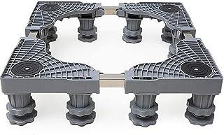 SHKUU Support Base pour Lave-Linge, Support Base Mobile Multifonctionnel, roulettes Chariot à Rouleaux réglables pour appa...