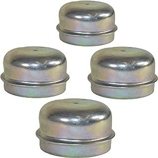 AB Tools 4 Replacement 50mm Metal Dust Cap Wheel Hub Trailer Bearing Grease Cover