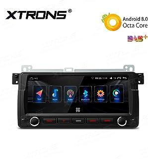 XTRONS 8.8インチ Android 8.0 Octa-Core 4G+32G カーステレオ GPS ナビゲーター ラジオ WiFi Bluetooth 5.0 SWC DVR バックアップカメラ OBD BMW E46用