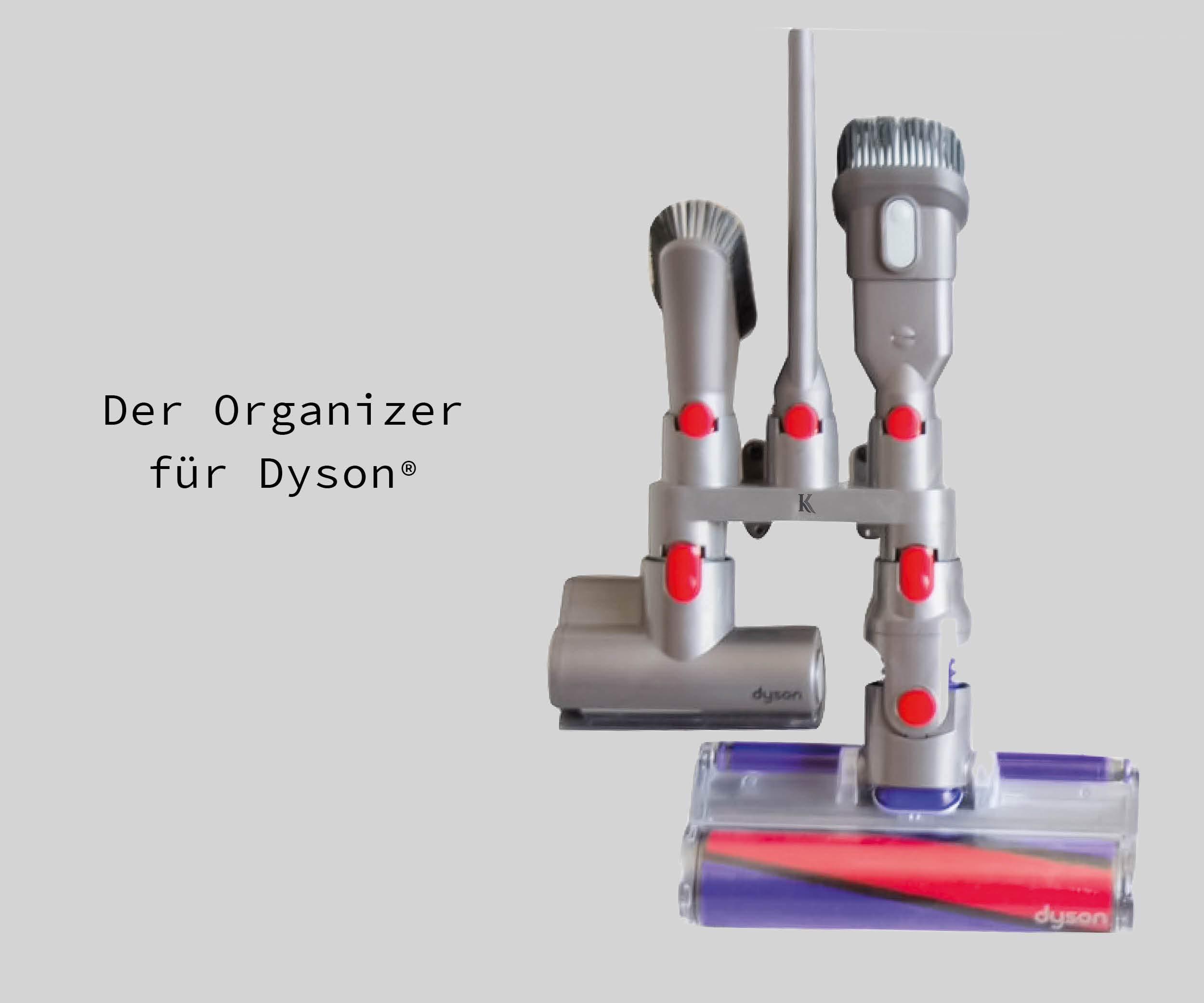 Para soporte de accesorios Dyson para aspiradora v7, v8, v9, v10 ...