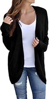 Dearlove Women's Casual Dolman Sleeve Open Front Knit Cardigan Sweaters S-XXL