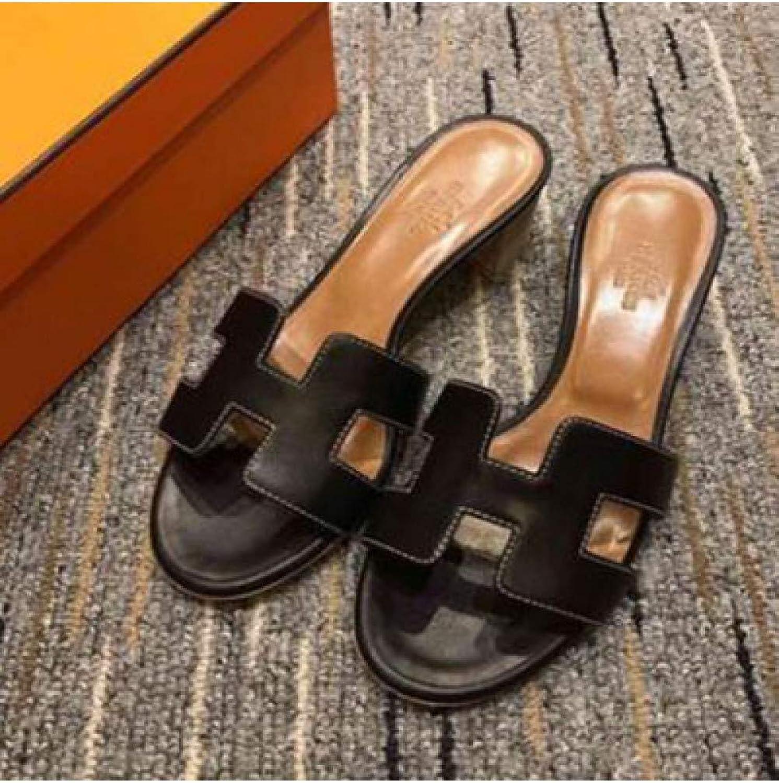 DZKA Sandalen Fersen Slides Outdoor Outdoor Indoor Slip Ons Flip Flops Hausschuhe Sommer Strand Sandalen Ausgeschnitten  Outlet Online-Shop