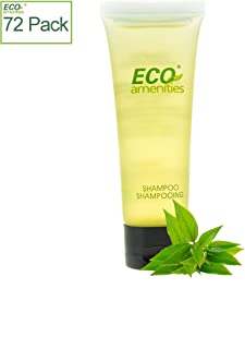 ECO AMENITIES Individually Wrapped 30ml Hotel Travel Shampoo, 72 Tubes per Case