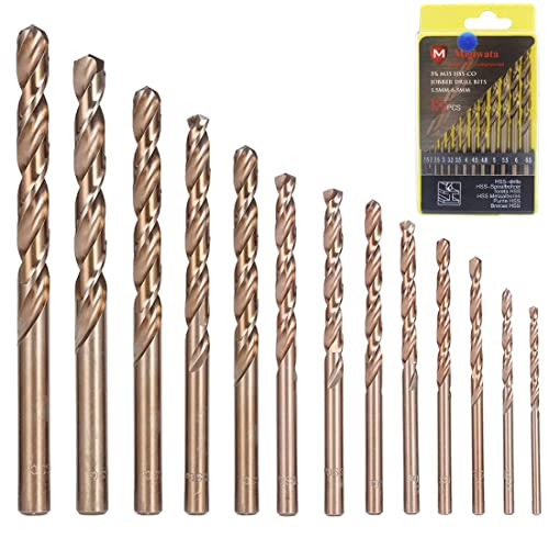 eedd62179f5b Drill Bits for Hardened Steel: Amazon.com