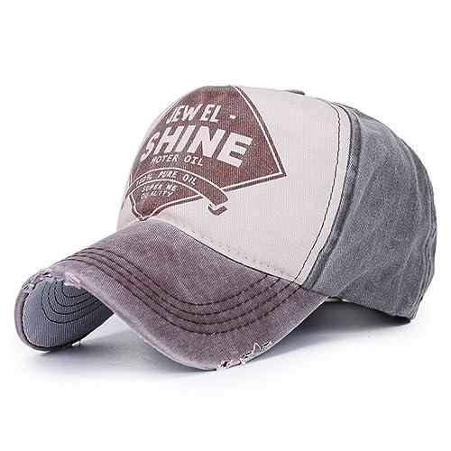 eb3ac7ad401 Vintage Trucker Cap Distressed Gas Oil Print Baseball Hat