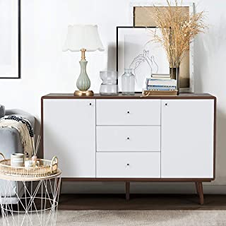 YOLENY Sideboard Buffet Cabinet, TV Stand Mid Century...