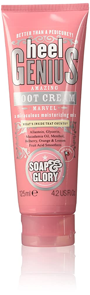 学部長ピカリング対話Soap And Glory Heel Genius Amazing Foot Cream Miraculous Moisturising Mix 125ml