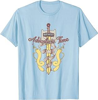 Cartoon Network Adventure Time Jake Warped Sword T-Shirt