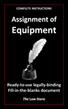 Assignment of Equipment (with instructions) (English Edition)