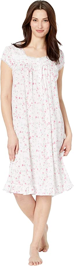 Cotton Modal Jersey Short Nightgown