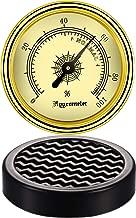 2 Pieces Analog Cigar Hygrometer Round Humidor Humidifier for Monitoring Humidity and Humidor Moisturizing Cigar Accessories