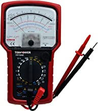 Tekpower TP7040 20-Range AC/DC Analog Multimeter General Purpose with High Accuracy and..