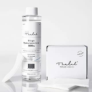 Blanc Doux Oligo Hyaluronic Acid 5000 Toner 6.76 fl. oz. + Special Cotton Pads (Box of 40 sheets)   Low-molecular-weight Hyaluronic Acid (5,000 Da, 70%) + 100,000 Da (30%)   Hypoallergenic