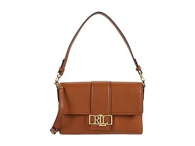 LAUREN Ralph Lauren Spencer 25 Shoulder Bag (Lauren Tan) Handbags