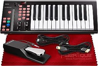 Icon iKeyboard 3X - 25-key Keyboard/Single Channel DAW Controller w/Cubase LE & Accessory Bundle
