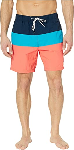 Tri-Block Swim Trunk