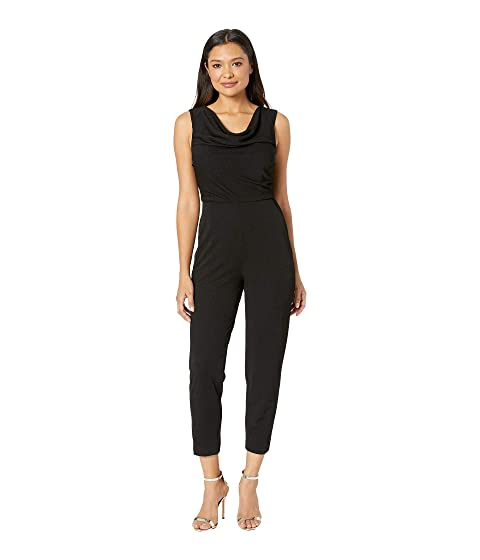 ada3ba4b14d Maggy London Evening Crepe Cowl Neck Jumpsuit at Zappos.com