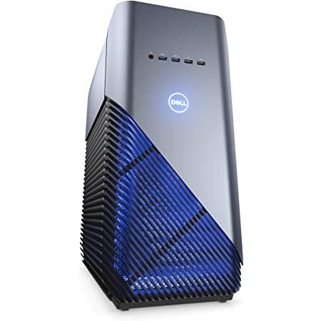 Dell i5675-7806BLU-PUS Inspiron Gaming PC Desktop 5680, Intel Core i7-8700, 8GB DDR4 Memory, 128GB SSD+1TB SATA HDD, NVIDIA GeForce GTX 1060, Recon Blue, Windows 10 64-bit