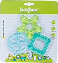 Baybee Teddy Natural Silicon Teether for Babies, Non-Toxic Food Grade, BPA-Free Silicon Teether for Infants, Freeze Safe E...