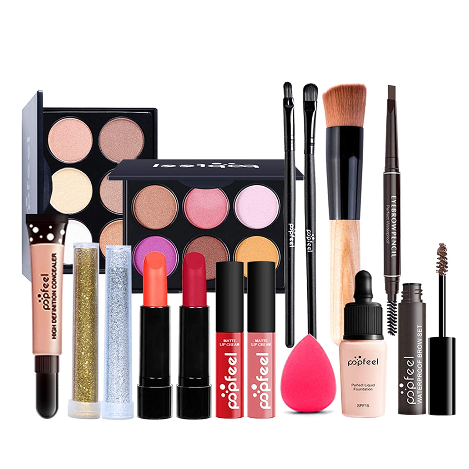 All-in-one NEW Holiday Makeup Set - makeup kit- for kit full Complete Free Shipping women C