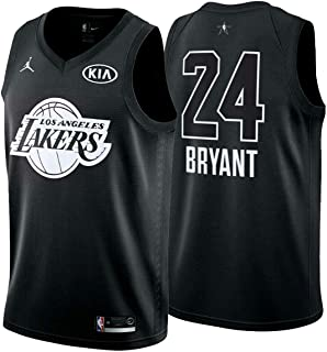Nike Jordan Youth 2018 NBA All-Star Game Kobe Bryant Black Dri-FIT Swingman Jersey