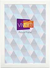 Thin Matt White Ready Made Picture Frame, A4 Certificate Size, 21 x 29.7cm