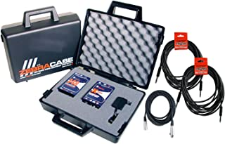 Radial Engineering Reamp Kit J48 Active DI X-Amp Re-Amper w/ Zebra Case, PSU, and 3 Cables