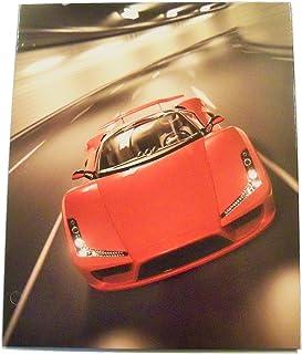 Staples Two Pocket Paper Folder ~ Ferrari G2 Sports Car (Red)