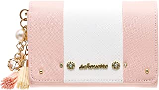 【セット品】& chouette &シュエット 2つ折り財布 レディース サイフ さいふ サマンサ かぶせ財布 二つ折り(財布、チャーム)