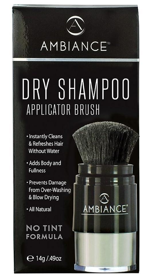 Ambiance Dry Shampoo (No Tint/Gray Hair Formula) – All-Natural, Volumizing Powder Absorbs Oil While Boosting Body and Shine
