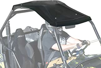 SuperATV Heavy Duty Plastic Roof for Polaris RZR 800/800 S/XP 900/570 - Easy to Install!