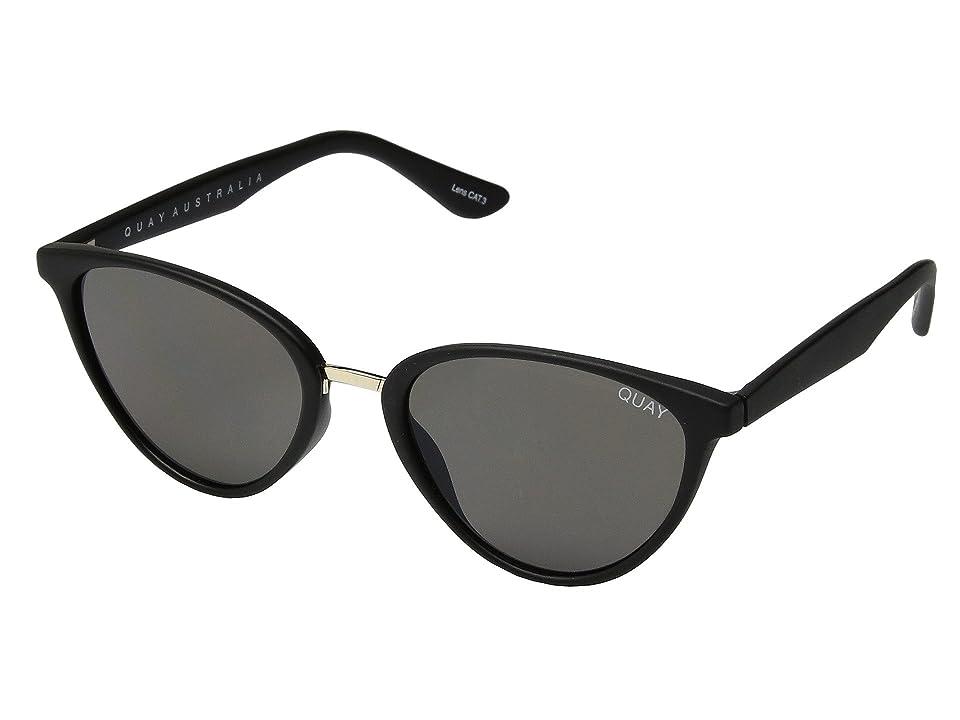 QUAY AUSTRALIA Rumors (Black/Smoke) Fashion Sunglasses