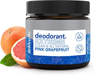 Golden Sky Naturals All Natural Deodorant Cream with Pink Grapefruit Essential Oil, Deodorant without Aluminum and Paraben...