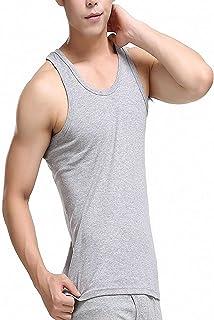 AKIROK タンクトップ メンズ ティーシャツドット リブ 無地 インナーティーシャツ ノースリーブ スポーツウェア ベスト ボディービル カジュアル AKI24515