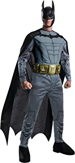 Men's Arkham City Deluxe Muscle Chest Batman Costume