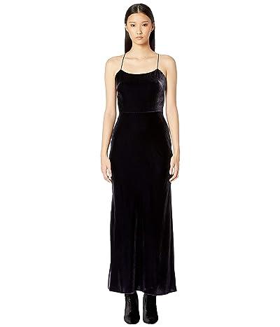 Jason Wu Shine Velvet Slip Dress (Twilight) Women