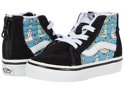 Vans Kids Sk8-Hi Zip (Infant/Toddler) ( Girls Shoes