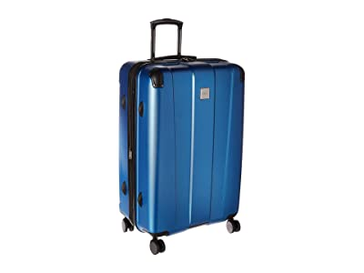Kenneth Cole Reaction 28 Continuum Lightweight Hardside Expandable 8-Wheel Spinner Checked Luggage (Vivid Blue) Luggage