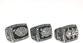 Oakland Los Angeles Raiders Super Bowl 1979 1980 1983 Ring Set